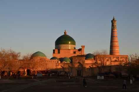 Coucher de soleil sur Khiva -