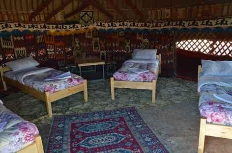 Yourte, Ouzbékistan -
