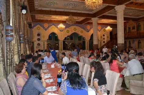 Diner au restaurant - Ouzbékistan -