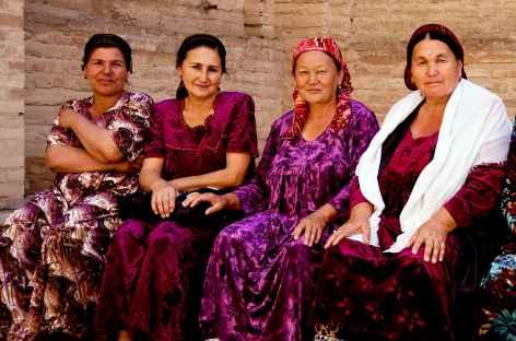 Femmes ouzbèkes à Samarcande - Ouzbékistan -
