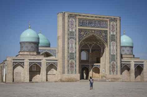 La médersa Barak-Khan à Tashkent - Ouzbékistan  -