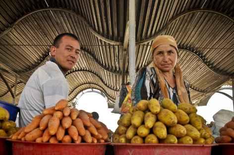 Marché de Tashkent - Ouzbékistan  -