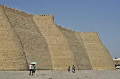 Les remparts à Boukhara - Ouzbékistan -