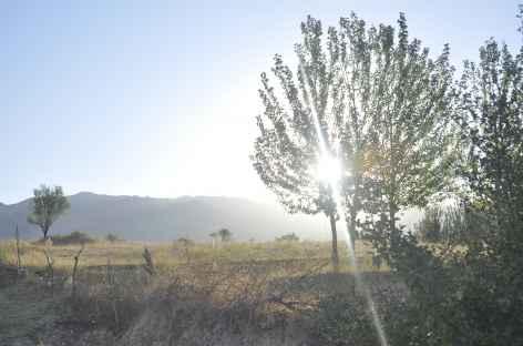 Lever de soleil vers Tchounkaymish - Ouzbékistan -