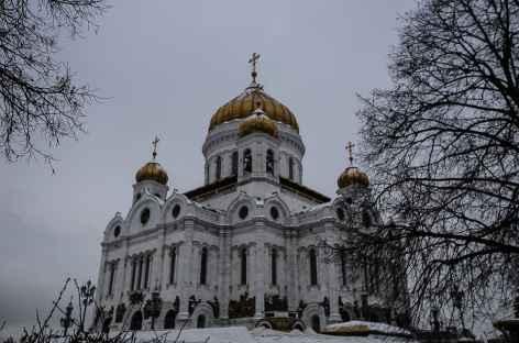 Moscou, Cathédrale du Christ Sauveur -