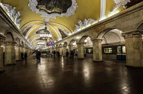 Moscou, le métro -