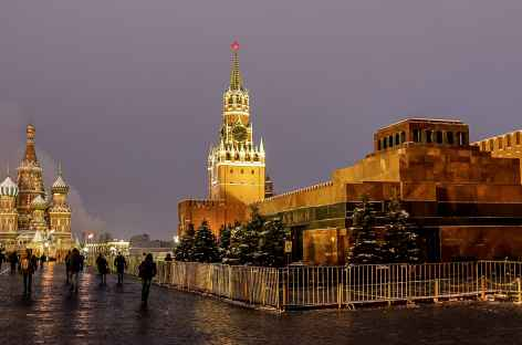 Moscou, place Rouge -