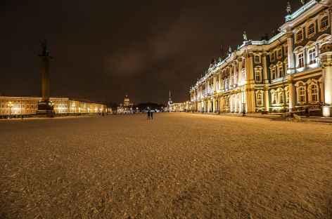Saint-Petersbourg, Place du Palais -