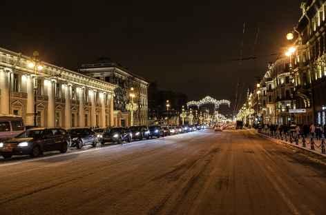 Saint-Petersbourg, perspective Nevski -