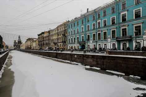 Saint-Petersbourg, les canaux  -