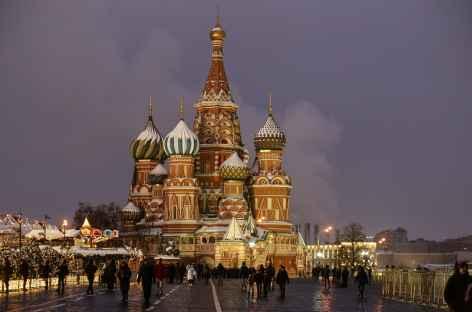 Moscou, Cathédrale Basile le Bienheureux -
