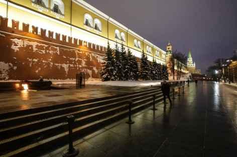 Moscou, remparts du Kremlin -