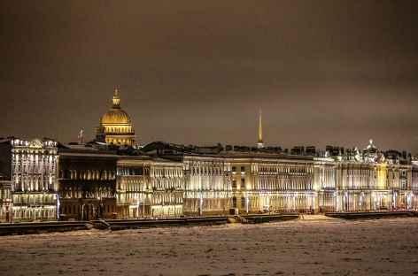 Saint-Petersbourg, tour de l'Amirauté et Saint-Isaac -