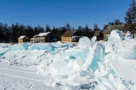 Station météo sur l'île Grand Ouchkany - Baïkal -