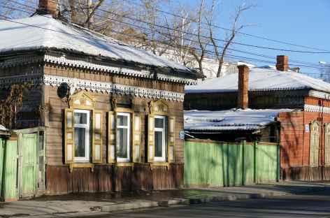 Maison traditionnelle à Irkutsk - Baïkal -