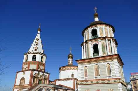Eglise Orthodoxe à Irkutsk - Baïkal -