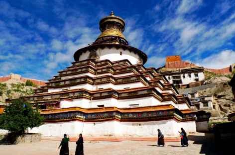Monastère de Gyantsé - Tibet -