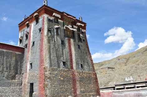 Tour aux couleurs caractéristiques de Sakya - Tibet -