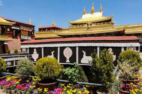 Le palais du Jhokang, monastère le plus sacré du Tibet -