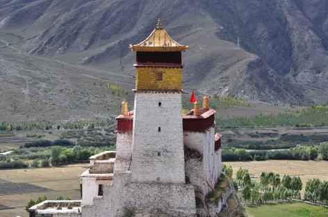 Monastère forteresse de Yumbulakhang - Tibet -