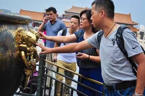 Vénération à la Cité Interdite - Pékin, Chine -