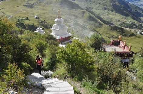Montée paisible à Drak Yerpa - Tibet -
