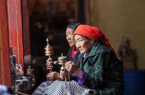 Tibétaines à Tandruk - Tibet -