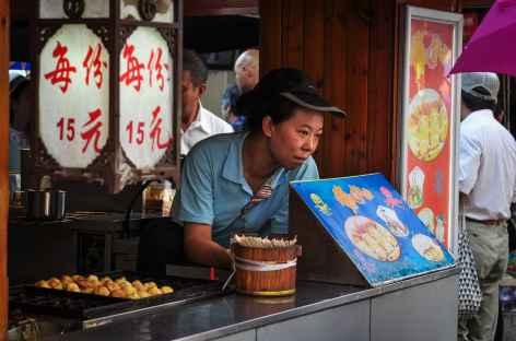 Petit marché à Pékin, Chine -
