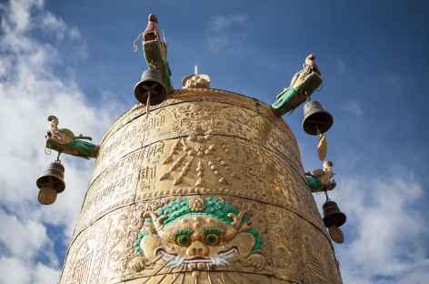 Détail du  Jhokang à Lhassa - Tibet -