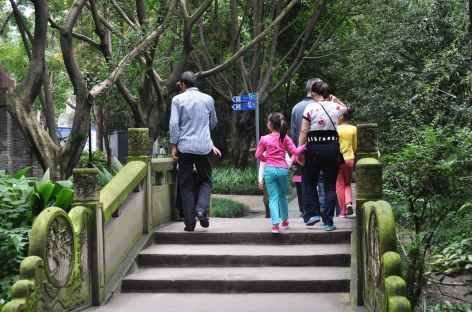 Balade familiale à Chengdu, Sichuan - Chine -