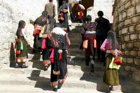 Pélerins Tibet -
