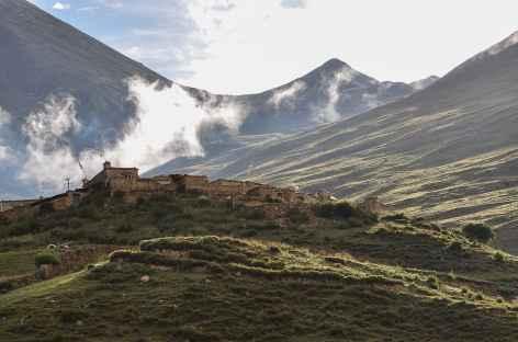 Lumière matinale - Tibet -