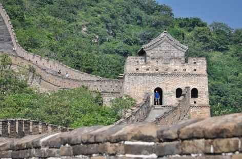L'une des tours de guêt jalonnant la Grande Muraille de Chine -