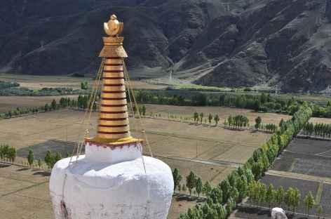 Chorten à Yumbulakhang - Tibet -