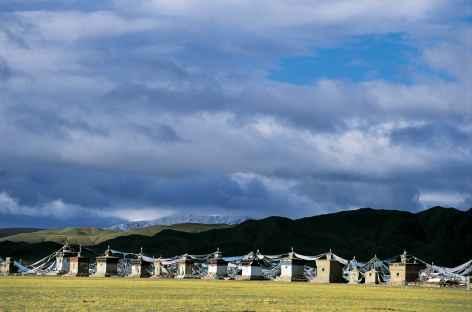 Sur la Route de l'Ouest, Tibet -