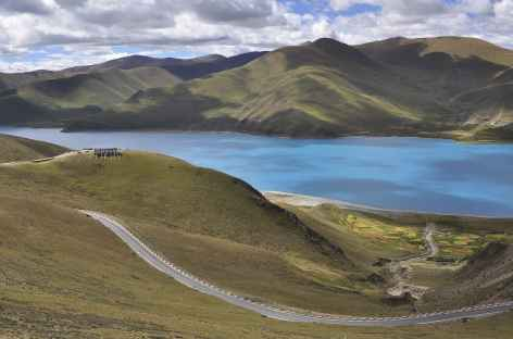 Lac Yamdrok, Tibet -