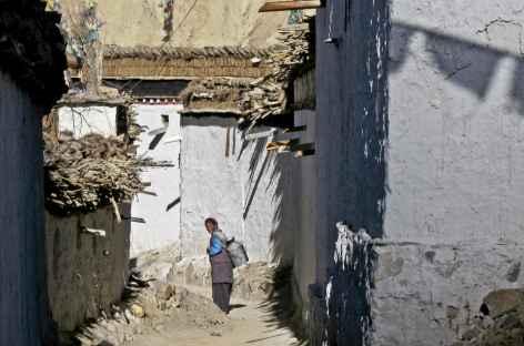 Village du toit du monde, Tibet -