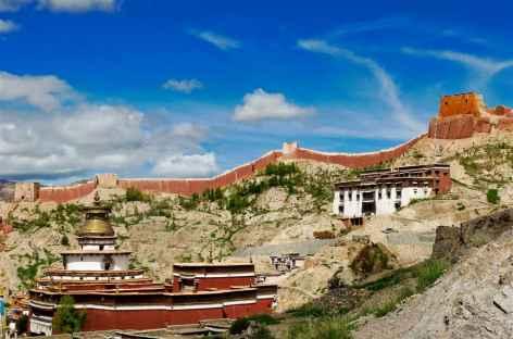 Monastère de Gyantse, Tibet -