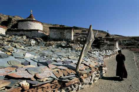 Départ pour la Kora du Mt Kailash, Tibet -