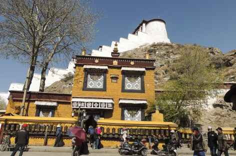 L'envers du Potala, Lhassa, Tibet -