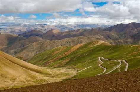 Les grands cols Routiers, Tibet -