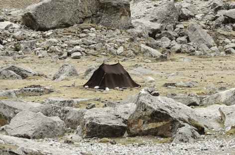 Tente Nomade, Tibet -