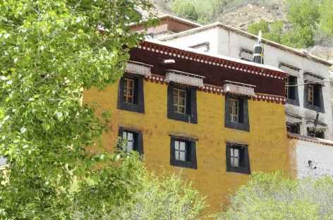 Détail à Sera, Lhassa Tibet -
