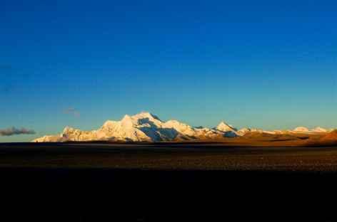 Sur la route des hauts sommets, Tibet -
