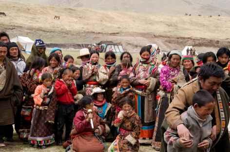 Population d'Amdowa au festival de Rebgong -
