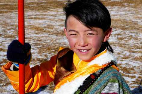 Jeune tibétain - Amdo -