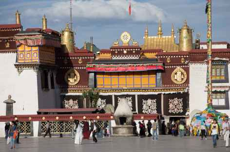 Entrée du Jokhang, Lhassa - Tibet -