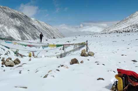 Passage du Chokar La - Tibet -