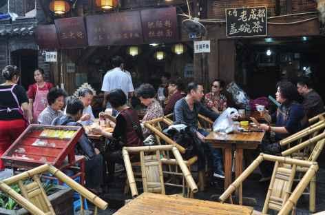Rues de Chengdu - Chine -