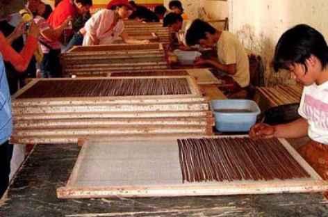Fabrique artisanale d'encens -
